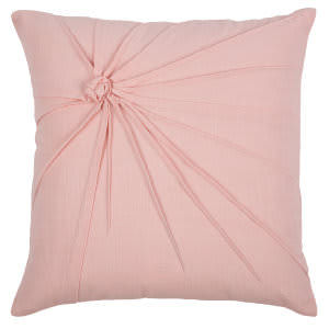 Rizzy Top Knot Pillow T08766 Pink