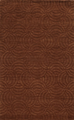 Rizzy Technique Tc8270 Rust Area Rug