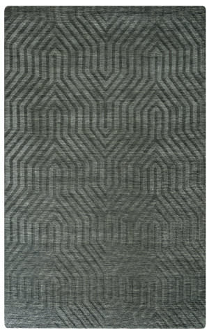 Rizzy Technique Tc-8574 Gray - Charcoal Area Rug