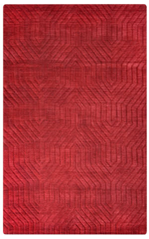 Rizzy Technique Tc-8575 Red Area Rug