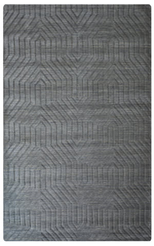 Rizzy Technique Tc-8578 Dark Gray Area Rug