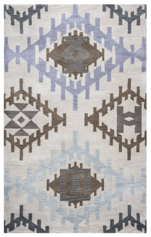Rizzy Tumble Weed Loft Tl-9152 Light Gray Area Rug