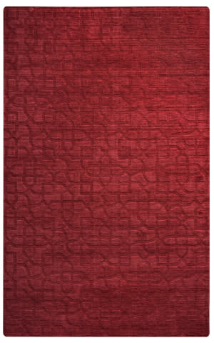 Rizzy Uptown Up-2453 Red Area Rug