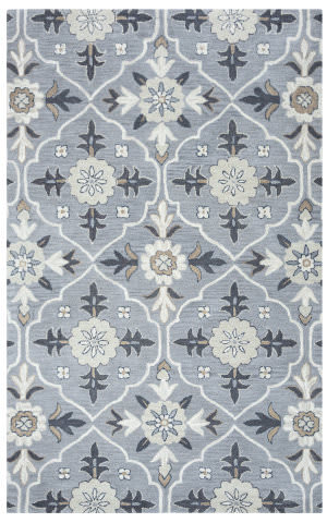 Rizzy Valintino Vn-9687 Blue Area Rug