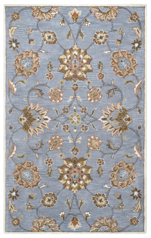Rizzy Valintino Vn-9708 Blue Area Rug