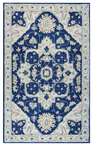 Rizzy Valintino Vn-9977 Blue Gray Area Rug
