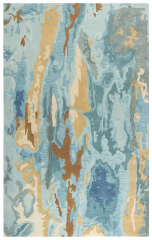 Rizzy Vogue Vog102 Blue Area Rug