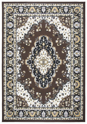 Rizzy Xcite Xi6927 Brown Area Rug