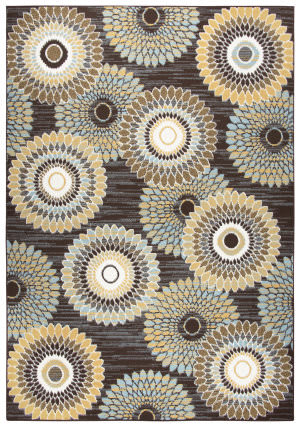 Rizzy Xpression Xp6881 Brown Area Rug