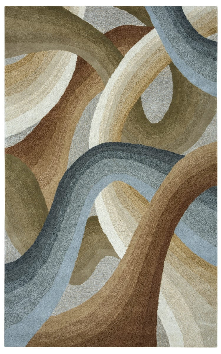 Rizzy Colours Cl 1679 Tan Ivory Brown Area Rug 163437