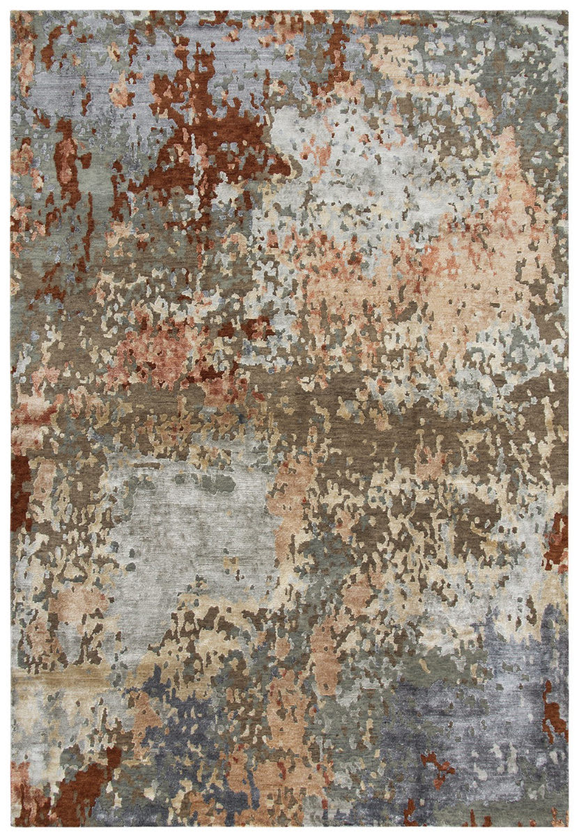 Rizzy Finesse Fin109 Brown Gray Rug Studio