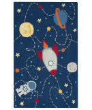 Rizzy Play Day Pd-590a Navy Area Rug