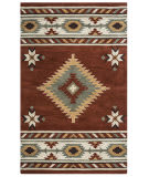 Rizzy Southwest Su1822 Rust Area Rug