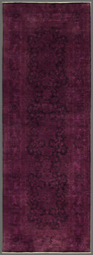 Rugstudio Overdyed 444188-616 Purple Area Rug