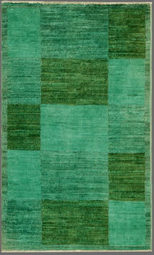Rugstudio Overdyed 444191-616 Green Area Rug