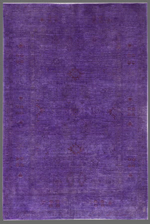 Rugstudio Overdyed 449422-616 Purple Area Rug