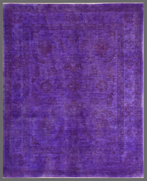 Rugstudio Overdyed 449446-616 Purple Area Rug