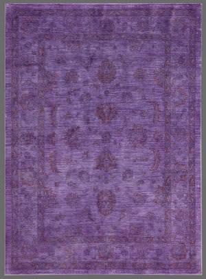 Rugstudio Overdyed 449455-616 Purple Area Rug