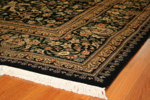 Rugstudio Sample Sale 104 Aubu Black Area Rug