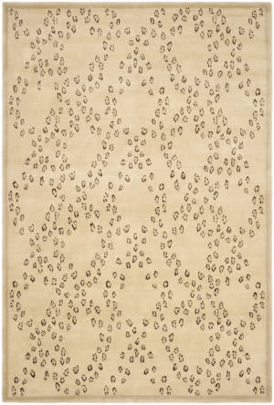 Rugstudio Sample Sale Tob829a Oatmeal - Black Area Rug