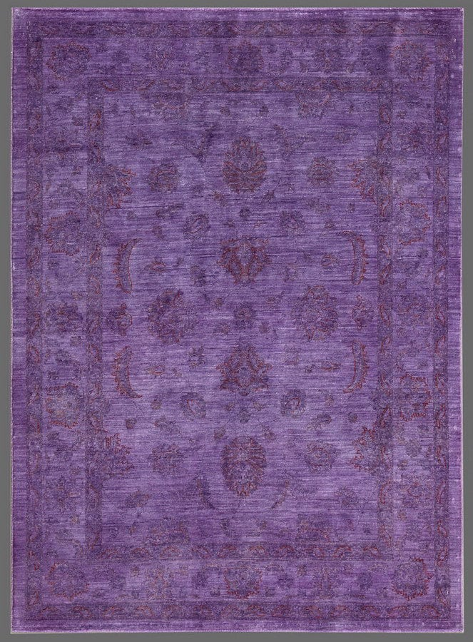 Rugstudio Overdyed 449455 616 Purple Area Rug 72711