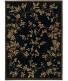Rugstudio Sample Sale Dreams And Dogwood Old Republic Black Area Rug