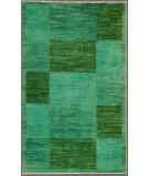 Rugstudio Overdyed Green 2' 6'' x 4' 3'' Rug