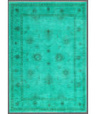 Rugstudio Overdyed Green 5' 7'' x 8' Rug