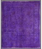 Rugstudio Overdyed Purple 6' 6'' x 8' 1'' Rug