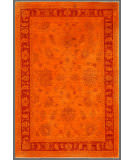 Rugstudio Overdyed Orange 3' 4'' x 5' 1'' Rug