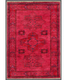 Rugstudio Overdyed Red 2' 9'' x 4' 1'' Rug