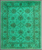 Rugstudio Overdyed Green 5' 8'' x 7' Rug