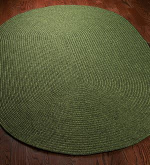 Safavieh Braided BRD315A Green Area Rug
