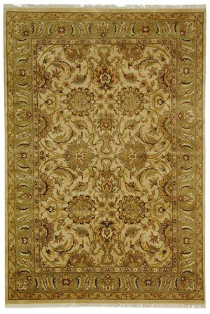 Safavieh Dynasty DY207B Beige / Green Area Rug