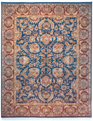 Safavieh Dynasty DY209A Navy / Red Area Rug