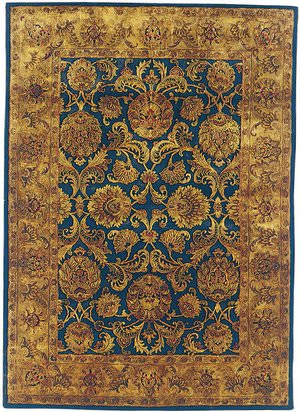 Safavieh Golden Jaipur GJ275A Navy / Gold Area Rug