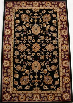 Safavieh Heritage HG112A Black / Red Area Rug
