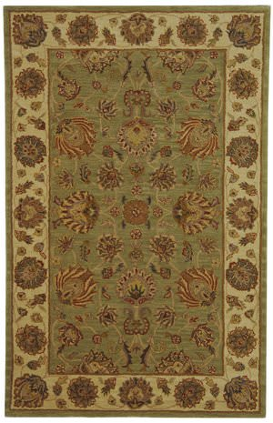 Safavieh Heritage HG343A Green / Gold Area Rug