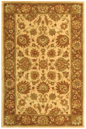 Safavieh Heritage HG343D Ivory / Brown Area Rug