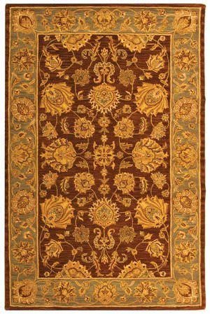 Safavieh Heritage HG343J Brown / Blue Area Rug