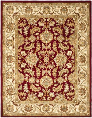 Safavieh Heritage HG628D Red / Ivory Area Rug