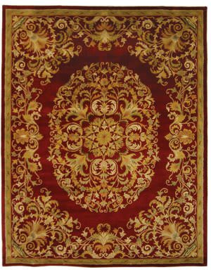 Safavieh Heritage HG640C Red Area Rug