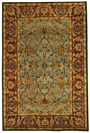 Safavieh Heritage HG794A Light Blue / Red Area Rug