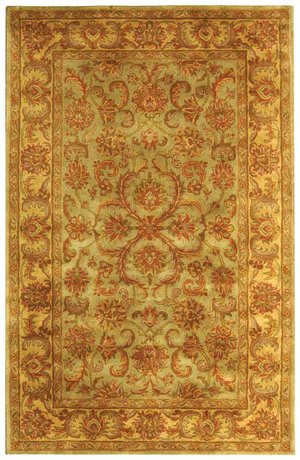 Safavieh Heritage HG811A Green / Gold Area Rug