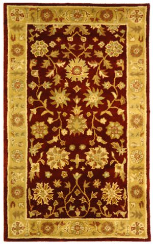 Safavieh Heritage HG813A Red / Gold Area Rug
