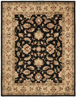Safavieh Heritage HG957A Black / Gold Area Rug