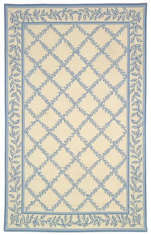 Safavieh Chelsea HK230A Ivory / Light Blue Area Rug