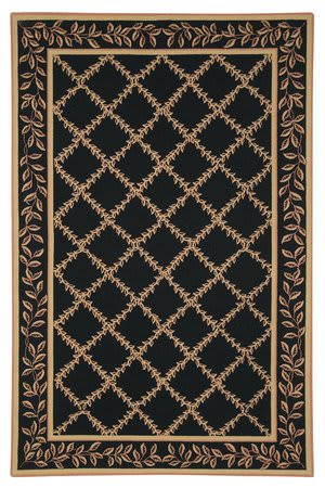 Safavieh Chelsea HK230D Black / Gold Area Rug