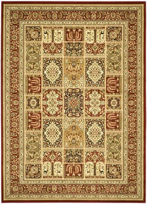 Safavieh Lyndhurst LNH217B Multi / Red Area Rug
