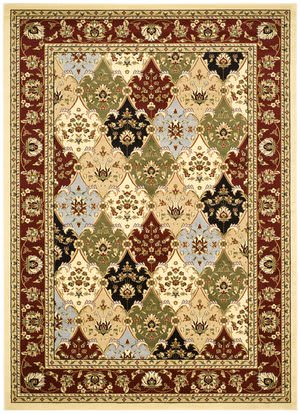 Safavieh Lyndhurst LNH320A Multi / Red Area Rug
